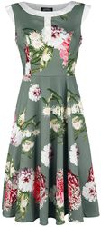 Mix Floral Hepburn Dress
