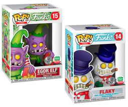 Fantastik Plastik - Flaky and Egor Elf (2-pack) (Funko Shop Europe) vinylfigur 14+15