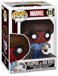 Deadpool as Bob Ross vinylfigur 319