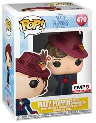 Mary Poppins with Umbrella vinylfigur 470