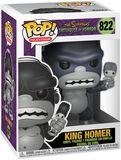 Treehouse Of Horror - King Homer vinylfigur 822
