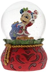 Santa Mickey - Snöglob