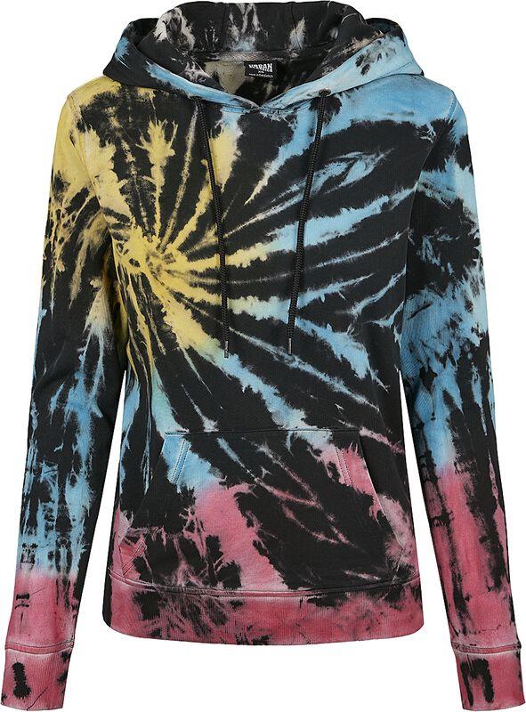 Ladies Tie Dye Hoodie