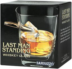 Last Man Standing Whiskeyglas