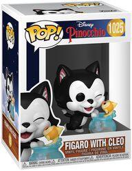 80th Anniversary - Figaro with Cleo vinylfigur 1025