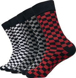 Check Socks 5-Pack