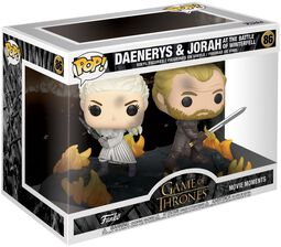 Daenerys and Jorah at the Battle of Winterfell (Movie Moments) vinylfigur 86