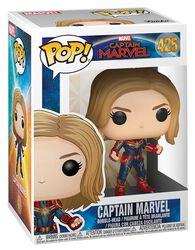 Captain Marvel (Chase-möjlighet) vinylfigur 425