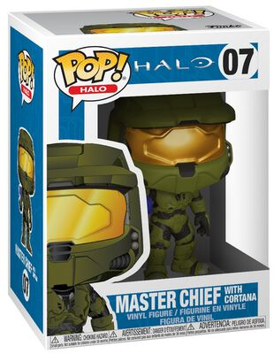 Master Chief With Cortana vinylfigur 07