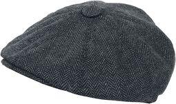 G&H Herringbone Newsboy Cap