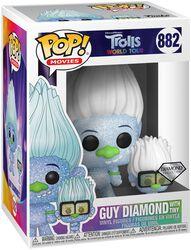 World Tour - Guy Diamond with Tiny (Glitter) vinylfigur 882