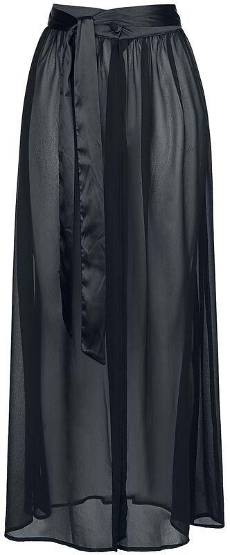 Vamped Chiffon Coordinate Skirt