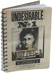 Sirius & Harry 3D anteckningsbok