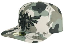 Camouflage 3D Embroidery Snapbackkeps