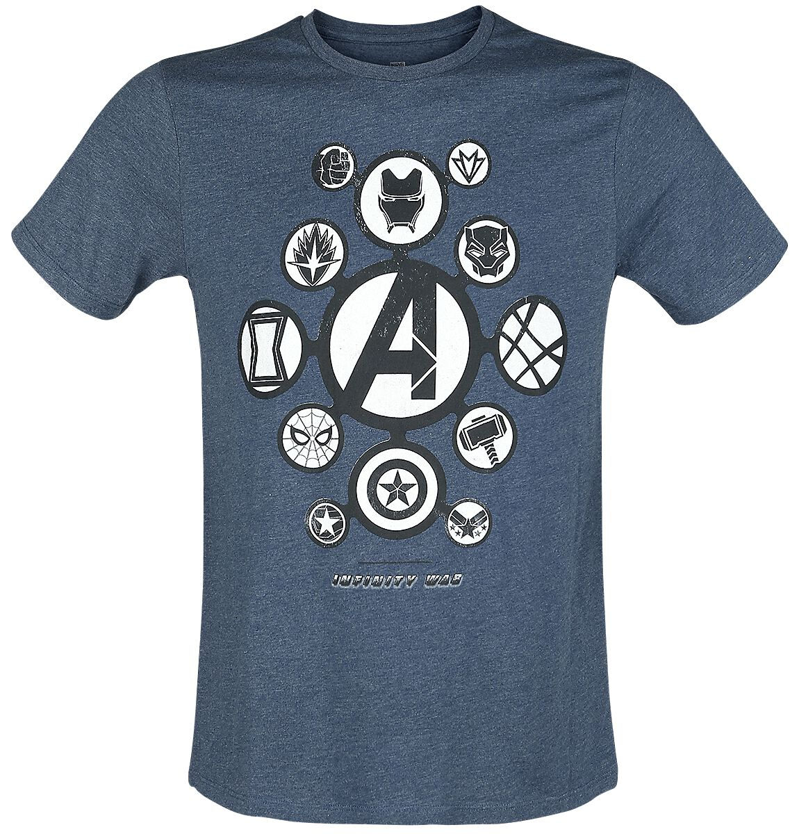 Infinity war logos avengers t shirt emp for My logo on a shirt