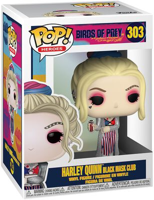 Harley Quinn Black Mask Club vinylfigur 303