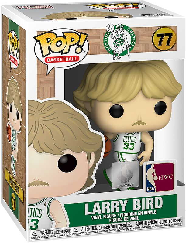 Boston Celtics - Larry Bird vinylfigur 77