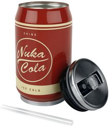Nuka Cola - Drickaburk i metall