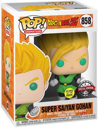 Z - Super Saiyan Gohan (Glow In The Dark) vinylfigur 858