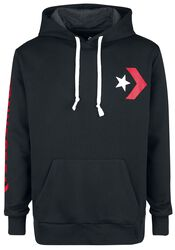 Star Chevron Graphic Pullover Hoodie