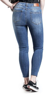 Lucy Normal Waist Ankle Jeans