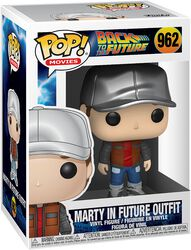 Marty in Future Outfit Vinyl Figur 962