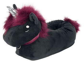 Ruby Punk Unicorn - tofflor vuxen