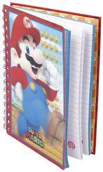 Mario - Anteckningsbok