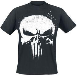 e19cf1059d7b Film & TV Marvel Kläder. Sprayed Skull Logo