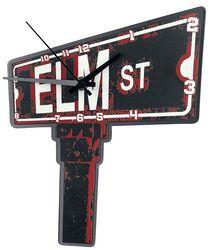 Terror på Elm Street Sign