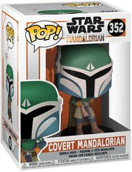 The Mandalorian - Covert Mandalorian vinylfigur 352