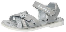 Metallic PU Sandals