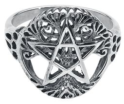 Tree of Life with Pentagram