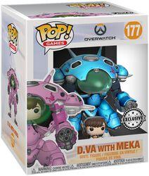D.VA with Meka (Supersized) vinylfigur 177