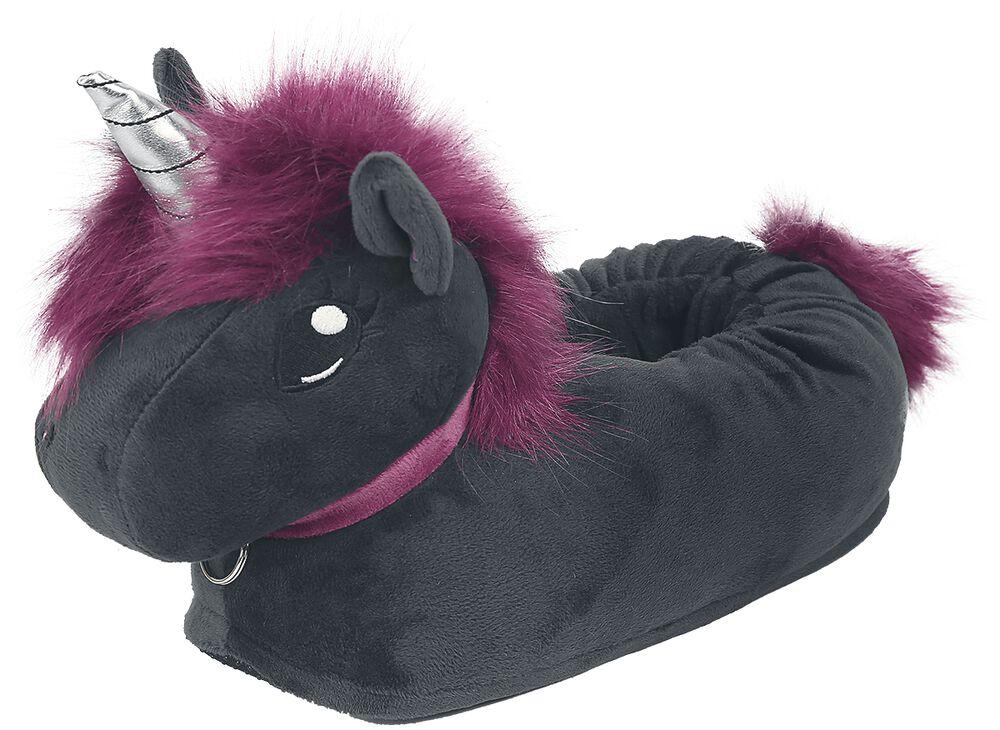 Corimori - Ruby Punk Unicorn - tofflor vuxen