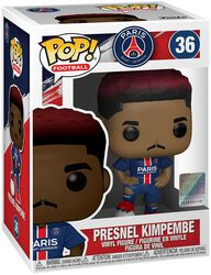 Football Paris Saint-Germain - Presnel Kimpembe vinylfigur 36