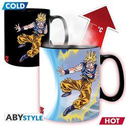 Z - Goku vs Buu - Heat-Change Mug