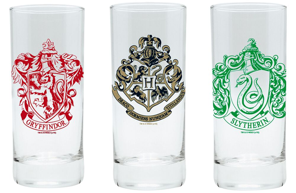 Hogwarts, Slytherin and Gryffindor
