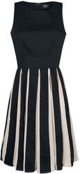 Judith Chiffon Retro Pleated Dress