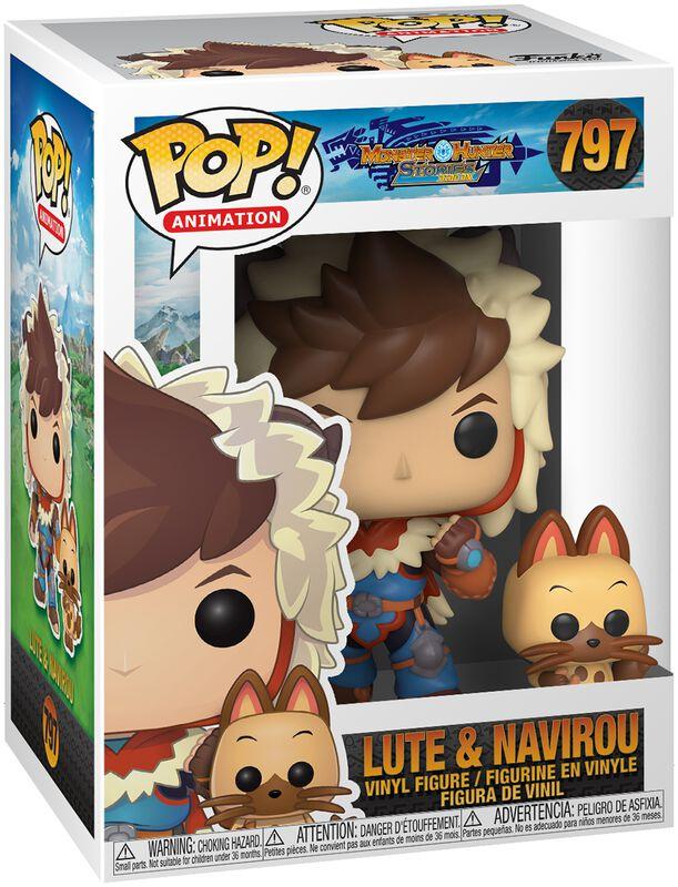 Lute with Navirou vinylfigur 797