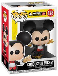 Musses 90-årsjubileum - Conductor Mickey vinylfigur 428