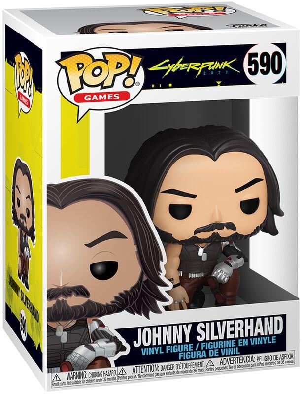Johnny Silverhand vinylfigur 590