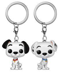 Pongo and Perdita - POP! nyckelring 2-pack