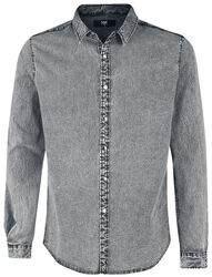Grey Denim Shirt