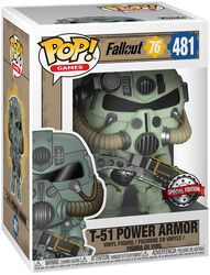 76 - T-51 Power Armor vinylfigur 481