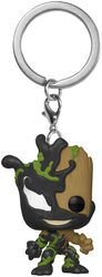 Venomized Groot Pocket POP! Nyckelring