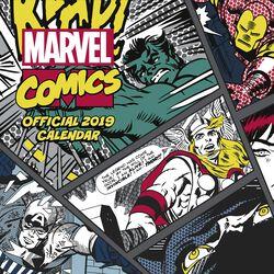 Classic Comics - Väggkalender 2019