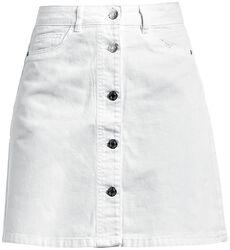 Sunny Short Denim Skater Skirt