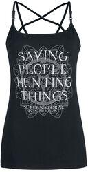 Saving People, Hunting Things