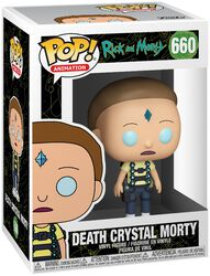 Death Crystal Morty vinylfigur 660